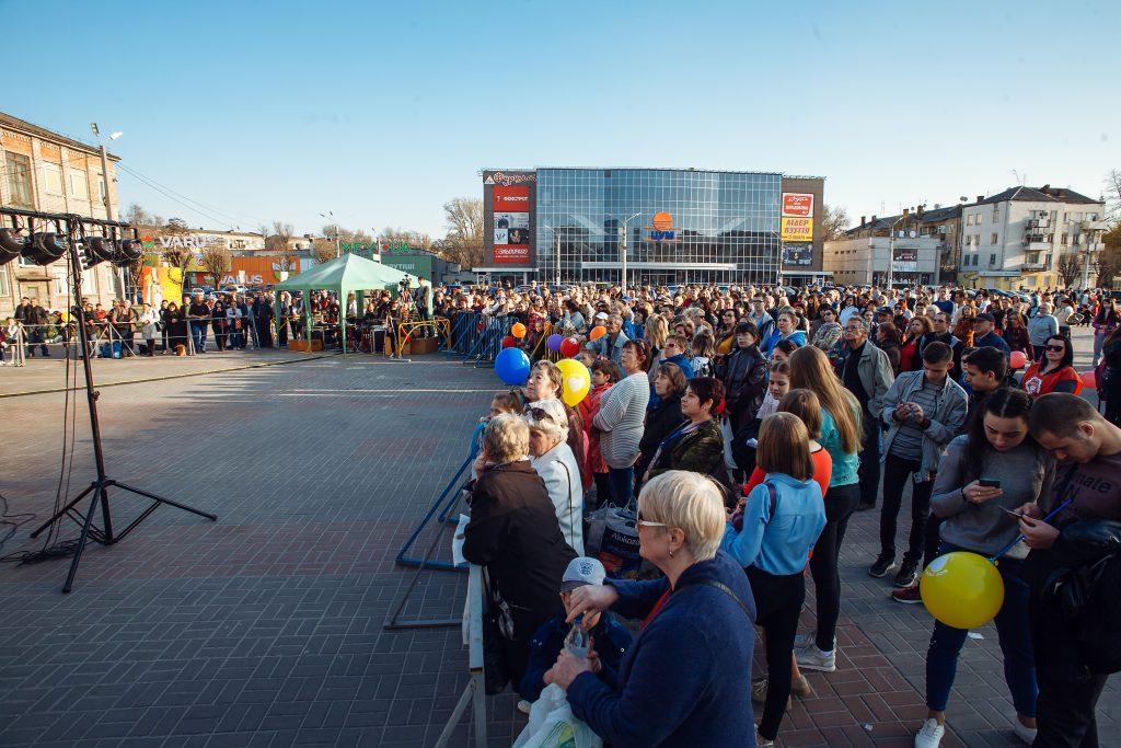 1000 человек собрал пасхальный мюзикл под открытым небом